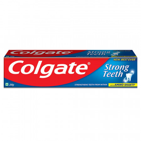 Colgate Strong Teeth Anticavity Toothpaste  - 200gm