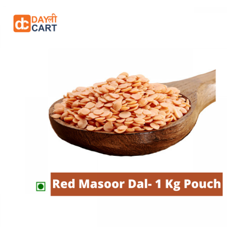 DC Mall Red Masoor Dal- 1 kg Pouch
