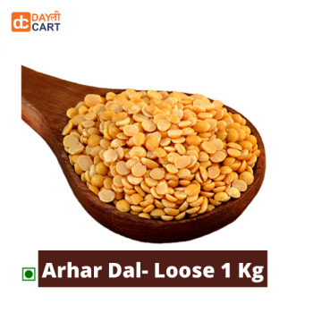 DC Mall Toor Dal/Arhar Dal - 1 kg Pouch