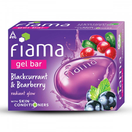 Fiama Gel Bar Blackcurrant and Bearberry