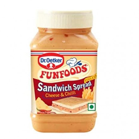 Funfoods Cheese and Chilli Sandwich Spread, 275g
