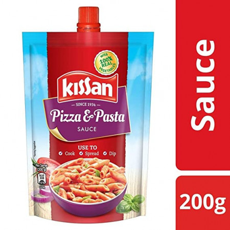 Kissan Sauce, Pizza and Pasta, 200g
