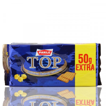 Parle Top Rich Buttery Crackers 150gm+50gm Free