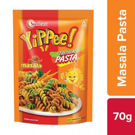 Sunfeast YiPPee! Tricolor Pasta | Masala |70g Pack